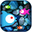 Free-swimming Fish LiveWallpap logo
