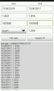 Currency Effect Calculator- screenshot thumbnail
