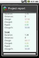 Screenshot of TimeTrackerLicense