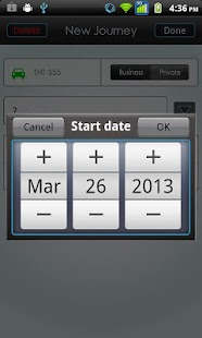 Vehicle Logbook - screenshot thumbnail