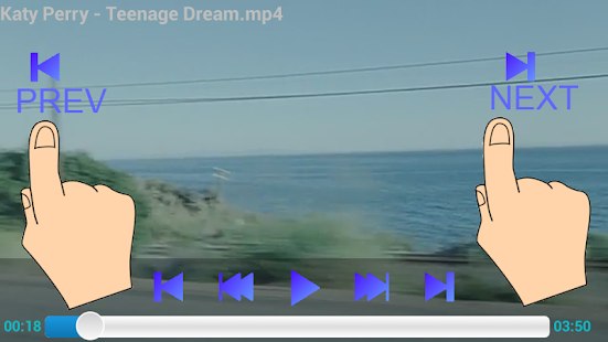 Background Media Player - screenshot thumbnail