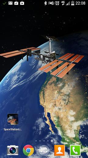 ISS Live wallpaper