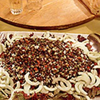 Lentil-Feta Salad
