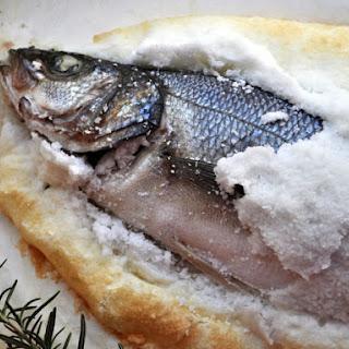Salt Crusted Branzino