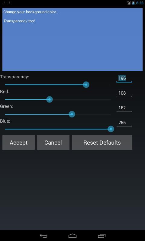 Sticky Pad Widget FREE - screenshot