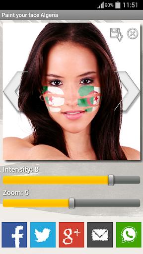 Paint your face Algeria