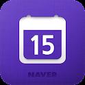 네이버 캘린더-디데이/시간표-Naver Calendar logo