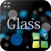 Glass Next Launcher 3D Theme
