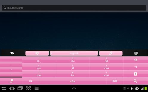 玩免費個人化APP|下載黑色和粉紅色的鍵盤 app不用錢|硬是要APP