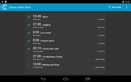 Caynax Alarm Clock PRO v7.2.1 PRO
