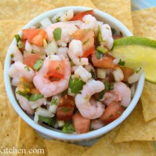Shrimp Salsa a.k.a. Ceviche.