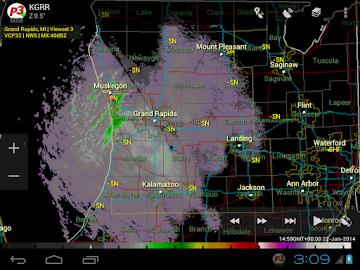 PYKL3 Radar (USA NEXRAD/TDWR) Screenshot 22