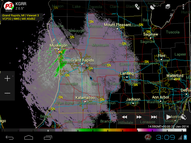 PYKL3 Radar (NEXRAD/TDWR) - screenshot