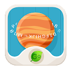 GO Keyboard Fantasy Fonts,Text icon