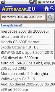 Autobazar EU - screenshot thumbnail
