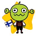 [B]TypingCONy for Finnish logo