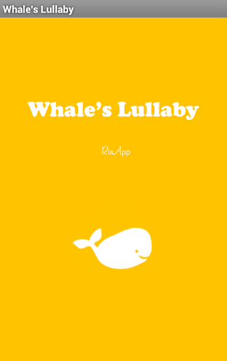 Whale's Lullaby