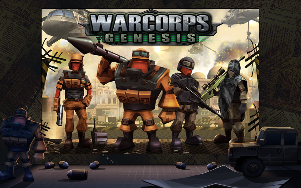 WarCom: Genesis - screenshot