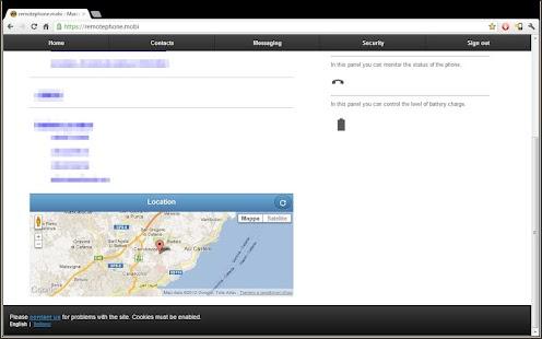 Remote Phone- screenshot thumbnail