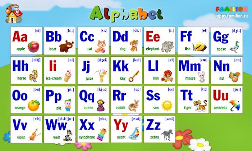 Детские игры  Английский для детей Английский алфавит