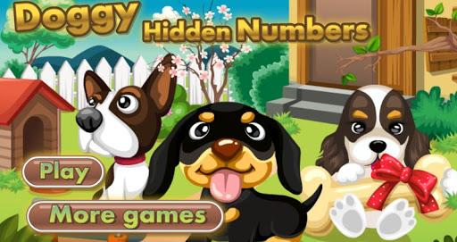 小狗和數字 -免費