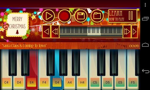 鋼琴聖誕節