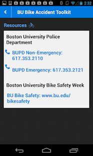 BU Bike Accident Kit - screenshot thumbnail