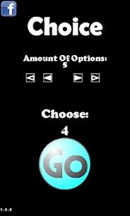 Choice- screenshot thumbnail