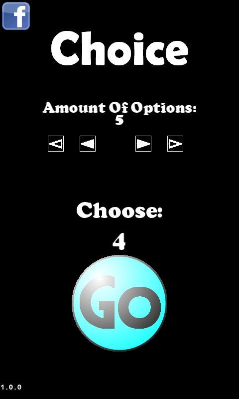 Choice - screenshot