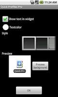 Screenshot of Quick Profiles Pro