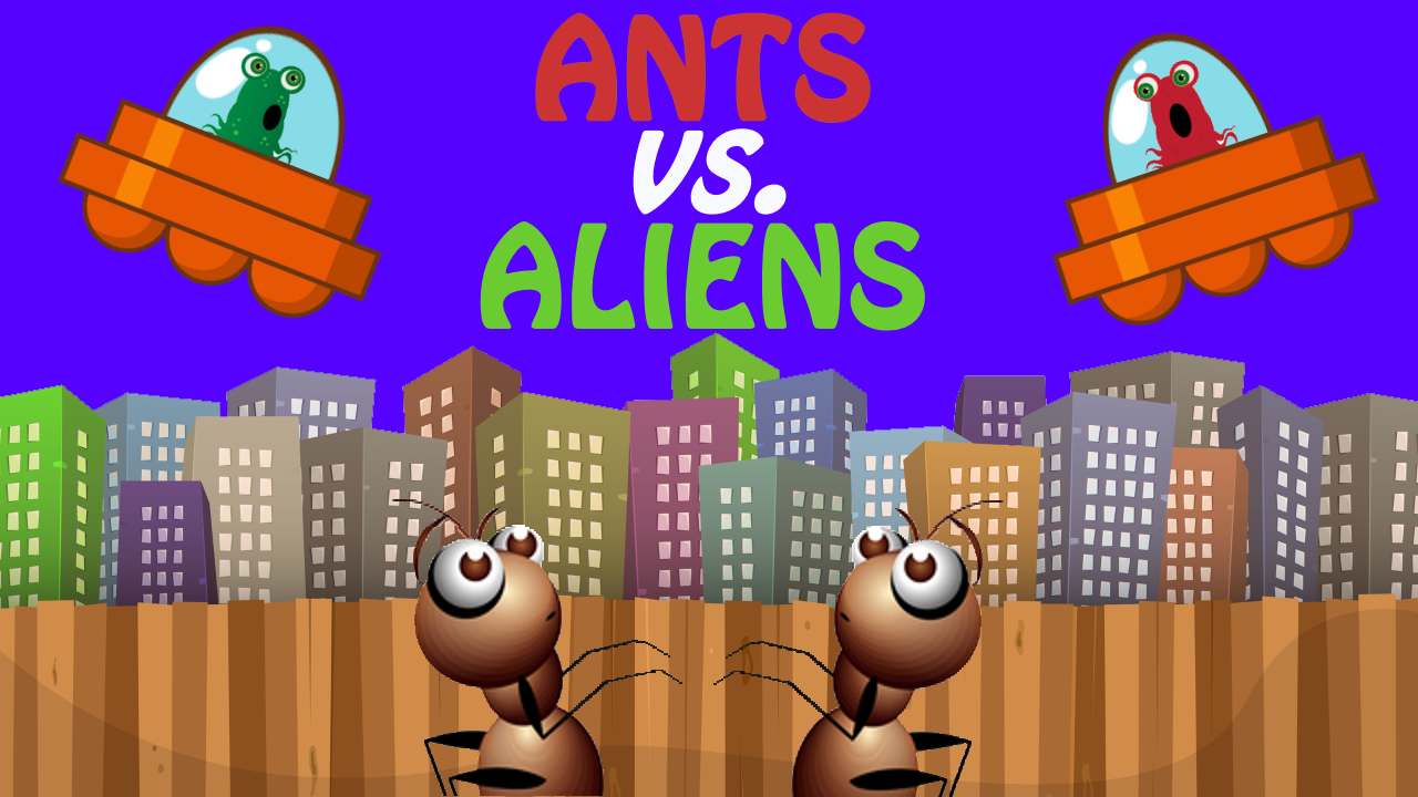 Ants vs. Aliens- screenshot