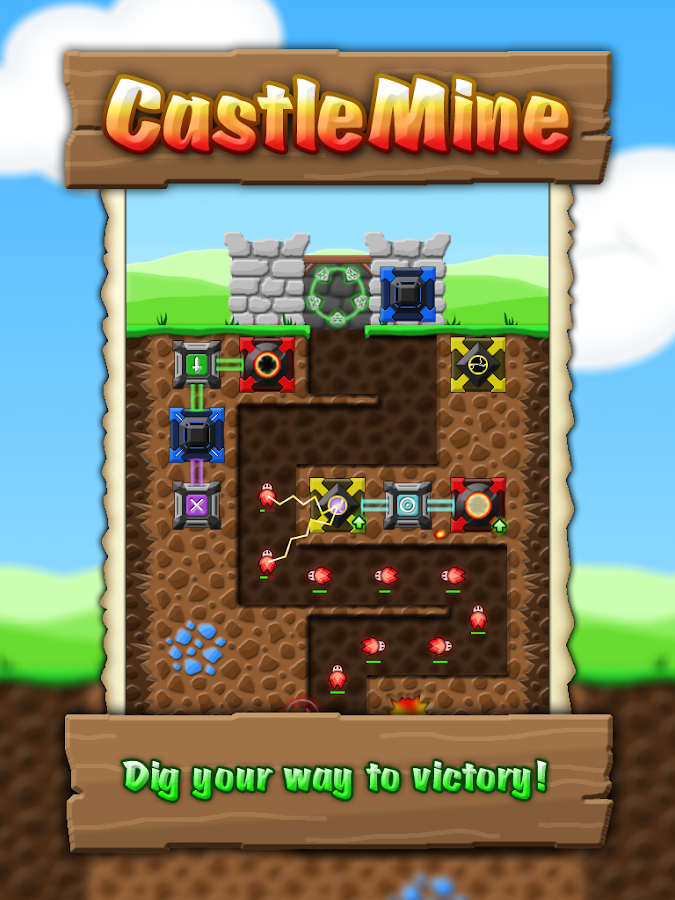 CastleMine - screenshot