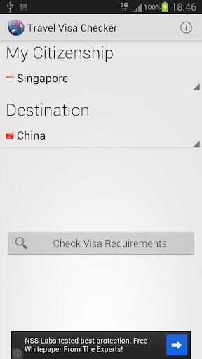 Travel Visa Checker