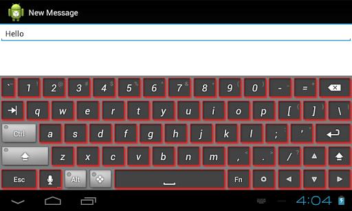 【免費個人化App】紅色主題鍵盤-APP點子