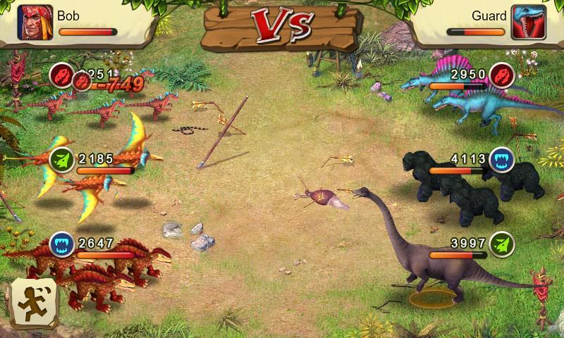 Dinosaur War- screenshot