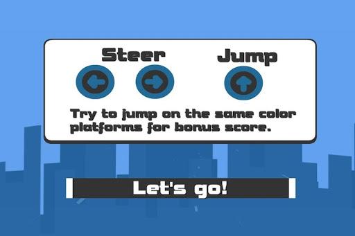 玩賽車遊戲App 红绿蓝!跳 -3D免費 APP試玩
