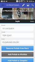 Screenshot of Nail Polish Rack