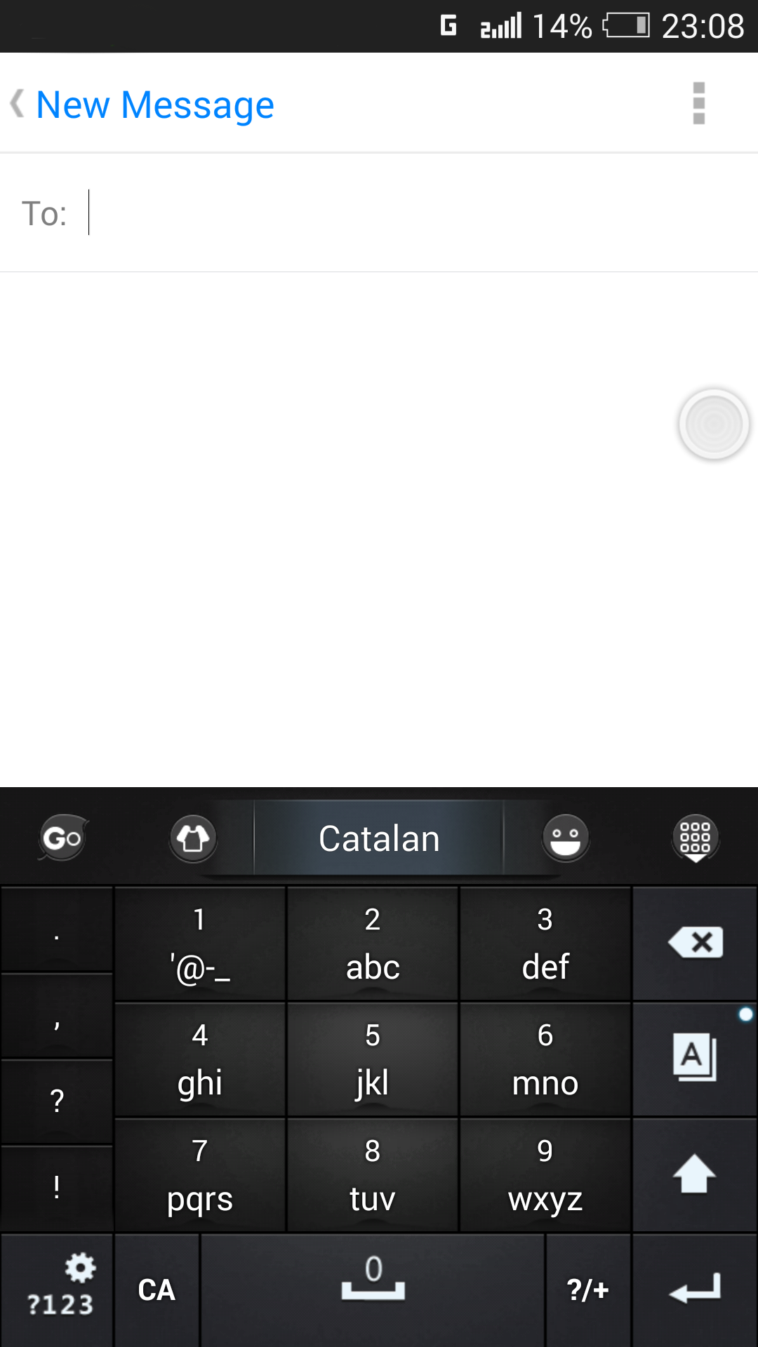 Catalan for GO Keyboard- Emoji screenshot #5