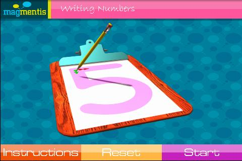 Writing Numbers - screenshot