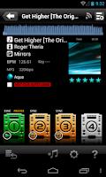 Screenshot of rekordbox