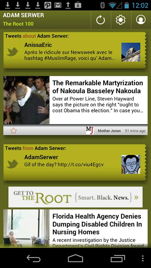 Adam Serwer: The Root 100 - screenshot