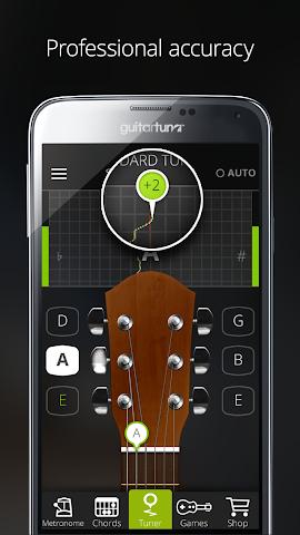 android Accordeur Guitares -GuitarTuna Screenshot 14