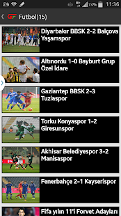 Güncel Futbol- screenshot thumbnail