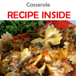 Crock-pot Ravioli Casserole.