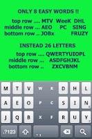 Screenshot of Tap Tap KEYBOARD