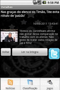 Corinthians Total - screenshot thumbnail