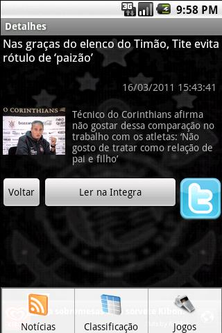 Corinthians Total - screenshot