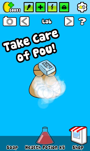 Pou Virtual Pet - Android Game