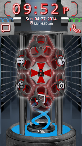 Umbrella Corp 3D Go Locker