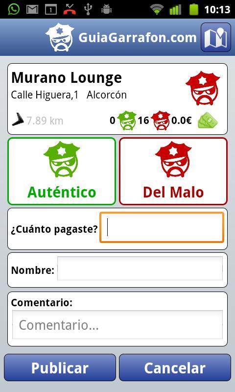 GuiaGarrafon- screenshot